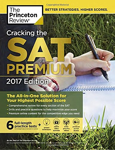 PDF Cracking the Sat Premium Edition with 6 Practice Tests, 2017