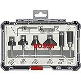 Bosch Professional groeffreesset Rand - + randfrees Set 6-delig 6 mm