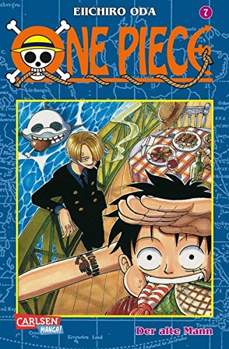 One Piece, Band 7: Der alte Mann (Band Manga)