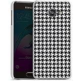 Samsung Galaxy A3 (2016) Housse Étui Protection Coque Noir et blanc Carreau