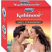 PleasureWorld - Kohinoor Kondome - 3 Stück (Juicy Erdbeere) preisvergleich bei billige-tabletten.eu