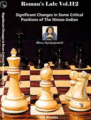 Roman 'S Chess Labs: 112: kritischen Positionen in der nimzowitsch-Indische Chess Öffnung DVD (Dvd Die Schach-spieler)