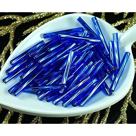 80x x 20mm Extra Lunga Blu Argento