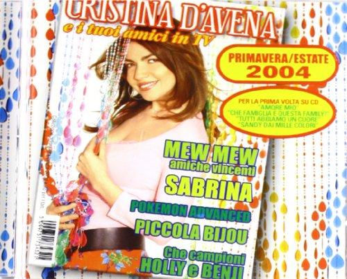 Cristina D'Avena e i tuoi amici in TV 2004 - Amazon Musica (CD e Vinili)