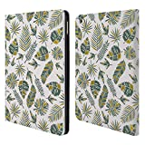 Offizielle Pom Graphic Design Gold Tropicana Muster 2 Brieftasche Handyhülle aus Leder für iPad Air 2 (2014)