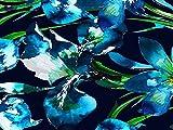 John Kaldor Floral Print Seide und Viskose Satin Kleid