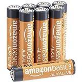AmazonBasics - Batterie alcaline AAA 1.5 Volt, Performance, confezione da 8 (l'aspetto potrebbe variare dall'immagine)
