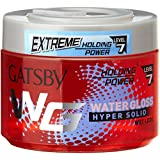 Gatsby Leather Water Gloss Hyper Solid, Red, 300g