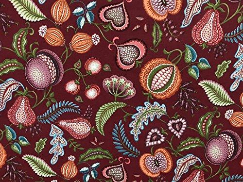 1m, Mulberry, Kunst und Handwerk-Polsterung, Quilt-Stoff, William Morris