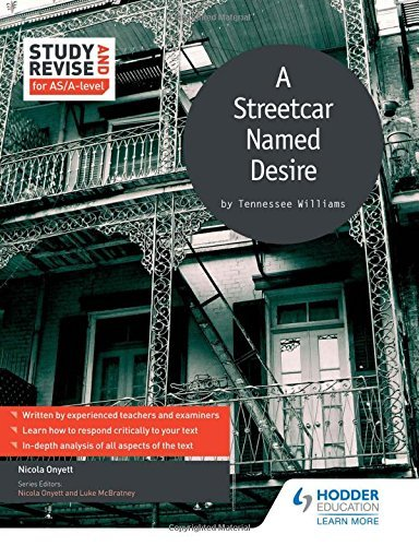 Study and Revise for AS/A-level: A Streetcar Named Desire (Study & Revise for As/a Level) by Nicola Onyett (2016-01-29)