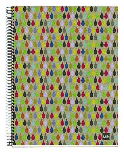 basicos-mr-2740-notizbuch-4-farben-a4-120-blatt-kariert-ecorain-recycling