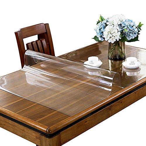 etechmart Custom klar dicker PVC-Tischdecke Pads Tisch Cover Protector -
