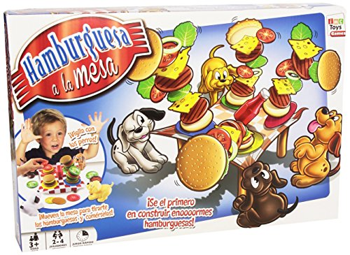 IMC Toys Juego Hamburguesa a la Mesa