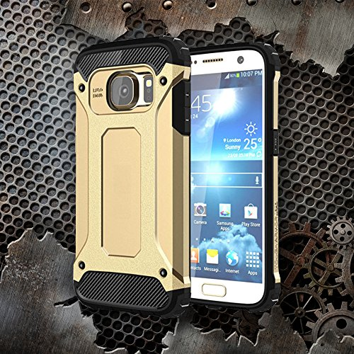 Mobilefox Schutz-Hülle Safe-Grip Case Bumper Cover Apple iPhone 4/4S Silber Gold