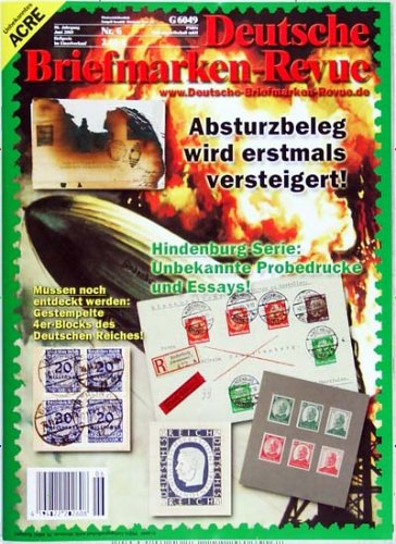 Deutsche Briefmarken-Revue [Jahresabo]