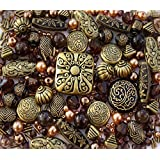Blackl Bronze mixed lot of Jewellery Making Beads
