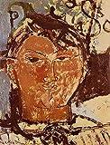 Toperfect 50€-2000€ Handgefertigte Ölgemälde - Porträt von Picasso 1915 Amedeo Modigliani Gemälde auf Leinwand Kunst Werk Ölmalerei - Malerei Maße04