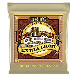 Ernie Ball Earthwood Bronze String Set