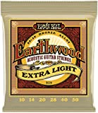 Ernie Ball 2006 10-50 Extra-Light Earthwood 80/20 Bronze String Set