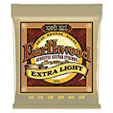 Ernie Ball Earthwood Extra Light 80/20 Bronze Akustikgitarren Saiten - 10-50 Gauge
