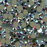 Swarovski - Juego de 80 cristales brillantes de estrás, ref. 2058SS8CI, fondo plano