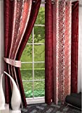Freehomestyle Floral Window Curtains- Mu...