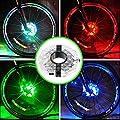 Mefe Wiederaufladbare Bike Wheel Hub Lichter, wasserfest USB wiederaufladbare LED Bike 3 Modi Fahrrad Speichen Licht Sicherheit Licht Magic Dekoration