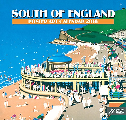 South Of England Poster Art Kalender 2018 – Academy Serie