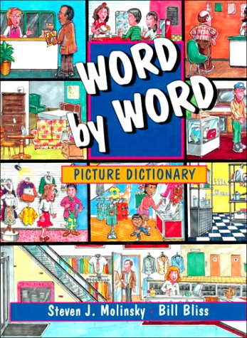 Picture Dictionary, Hardcover, Word by Word