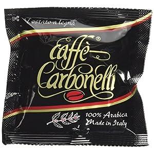Caffè Carbonelli 50 Cialde Ese, Miscela Arabica - 1 Scatola