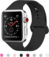 HILIMNY Correa Apple Watch 38MM 42MM, Suave Silicona iWatch Correa, Para Series 3, Series 2, Series 1, Nike+, Edition, Hermes