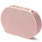 GGMM Mini WLAN Lautsprecher Mobiler Smart Speaker mit Multiroomsystem Powerful Stereo-Sound 15-Stunden-Spielzeit Bluetooth Lautsprecher integrierter Amazon Alexa Funktion