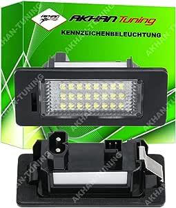 Akhan Kb135 3 Kennzeichenbeleuchtung Nerschildbeleuchtung Led Module Plugn Play Komplette Einheit Auto