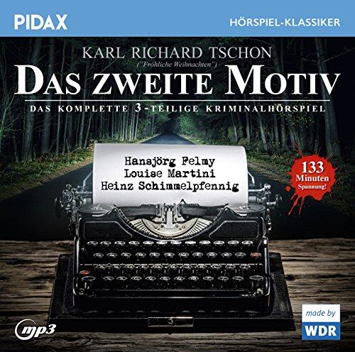 Pidax Hörspiel-Klassiker - Das zweite Motiv (Karl Richard Tschon) WDR 1965 / pidax 2016