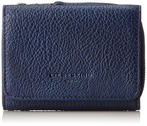 Liebeskind Berlin Damen Pablaf8 Core Geldbörse, Blau (Ink Blue), 3x11x9 cm