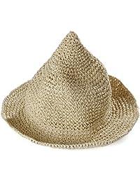 Leisial Sombrero Gorra Paja de la playa Gorro de Viaje Protector Solar  Sombrero de Sol Respirable 529f0c6b6da