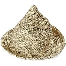 Leisial Sombrero Gorra Paja de la playa Gorro de Viaje Protector Solar  Sombrero de Sol Respirable c4da2746aa2
