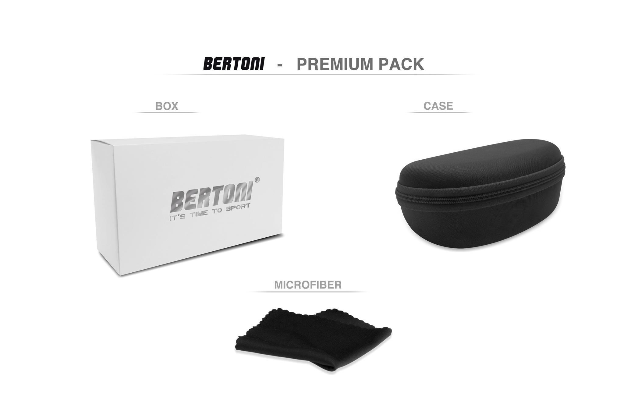 Lunettes Photochromiques de Moto Bertoni F366A 8