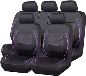 Car Pass Sitzbezüge Auto Set Autositzbezüge Schonbezüge Und Rücksitze Mit Airbag System Eilbarer Rückbank Auto Zubehör Innenraum Auto