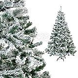 [DQ-PP] Weihnachtsbaum 150cm weiß LUX + künstlich Tannenbaum Christbaum Dekobaum Baum