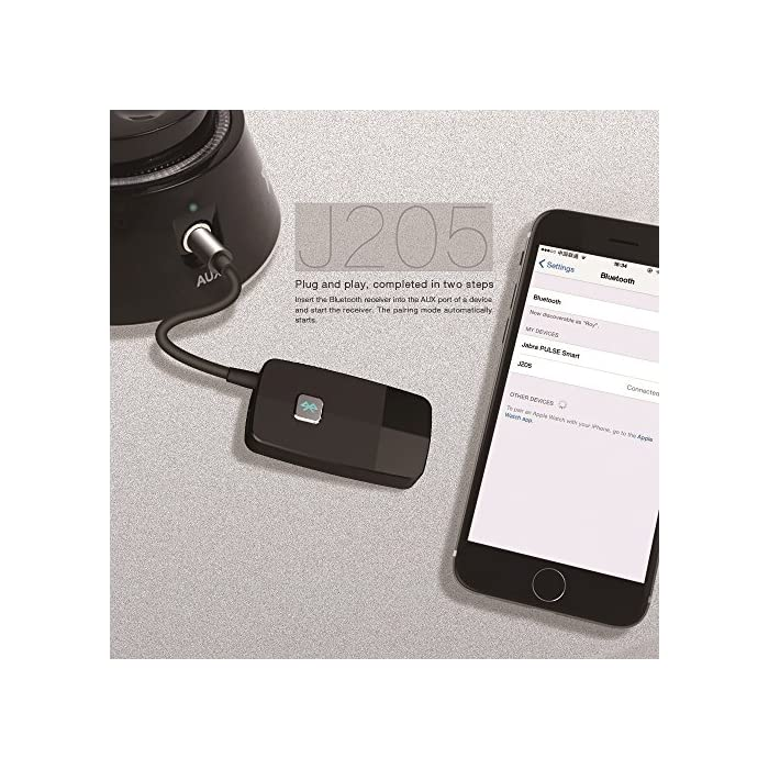 Advanced 4.2, A2DP Golvery Bluetooth Receiver Portable Wireless Audio Adapte
