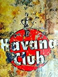 Havana Club Metallschild