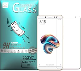 Momoto redmi Note 5 Pro Anti-Blue Light Screen Protector - Scratch Terminator | Anti-Blue Light Full Coverage | 9H Hardness Tempered Glass Protector | Ultra Clear Film