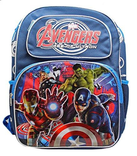 Marvel, Herren Jungen Unisex Kinder Kinderrucksack dunkelblau 40,6 cm (Rolling Rucksack Ninja Turtle)