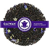 "Núm. 1199: Té negro ""Earl Gray Blue Star"" - hojas sueltas - 100 g - GAIWAN® GERMANY - estrella azul, té negro de la India y Vietnam, malva, naranja"