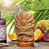 Tiki Hände Tasse 27.5oz/780 ml - Neuheit Keramik Hawaiian Motto Party Cup für Cocktails und PARTEIEN