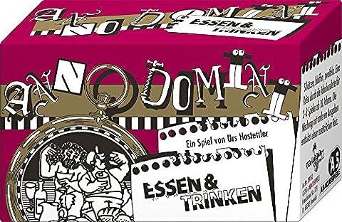 ABACUSSPIELE 09162 - Kartenspiel Anno Domini Essen und Trinken