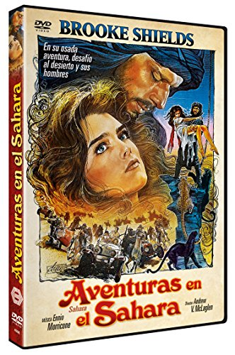 Aventuras en el Sahara DVD 1983 (Sahara, Dvd)