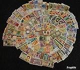 Alle Welt 100 verschiedene bankfrische Banknoten aus zahlreichen Ländern (Banknoten für Sammler)