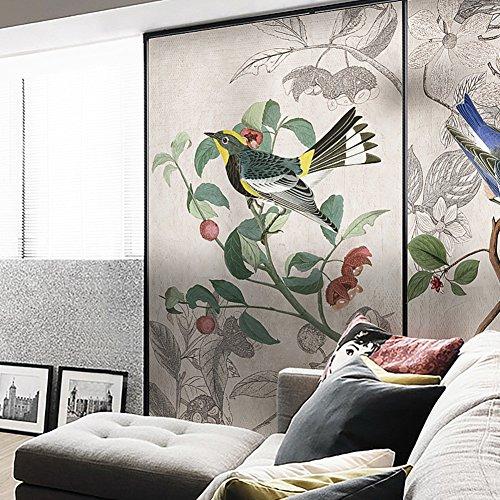 YQ WHJB Mattierte privatsphäre fensterfolie,Leimfrei Fenster Aufkleber,Chinesischer Stil Dekorative Sonnenschutz Badezimmer Fenster-Aufkleber Aufkleber-B 57x90cm(22x35inch)